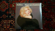 JOAN RIVERS-WHAT BECOMES OF A SEMI LEGEND MOST-GEFFEN-GHS4007-FACTORY SEALED-NEW