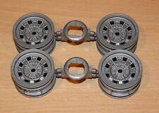 Tamiya 58158 Fiat Abarth 1000 TCR/Golf/Beetle/NSU, 9335209/19335209 Wheels 4Pcs.