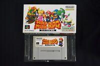 Complete Super Mario RPG - Super Famicom SNES Rare Japanese Version