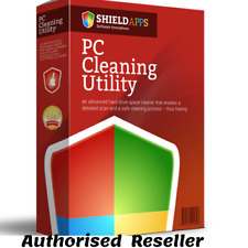 PC Cleaning Utility PC cleaning tool 12 month license Windows