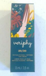 VERIPHY 20/20 EYE CREAM Firms Smooths Anti-wrinkle with PEPTIDES 15ml .5 fl.oz.