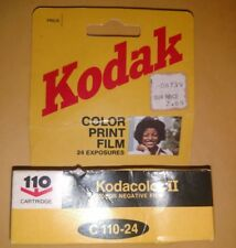 Kodak Kodacolor II 110 Color Negative Film 24 Exposures  07/1984