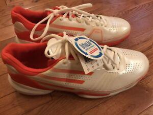 NEW Adidas Adizero Feather Clay Mens Tennis Shoe Size 11.5