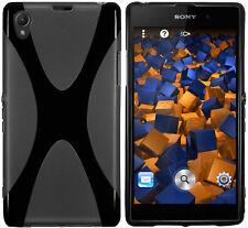 mumbi Schutzhülle für Sony Xperia Z1 Hülle Cover Tasche Case Handy Schutz Bumper