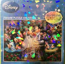 Disney Mickey & Minnie Wedding Dream Jigsaw Puzzle 108 pcs Holo Crystal