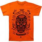 PIERCE THE VEIL - Sugar Skull Orange T-shirt - NEW - LARGE ONLY