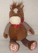 Mary Meyer Motley Zoo Horse Plush Toy Mixed Print Dot Stripe Stuffed Animal