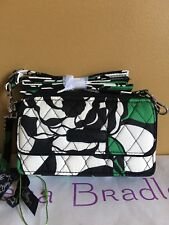NWT Vera Bradley Imperial Rose All in One Crossbody Wristlet iPhone 6Plus 7 8