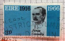 In Eire/Irlanda FRANCOBOLLI-James Connolly 50th ANNIV. della rivolta di Pasqua 1966 3p
