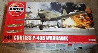 Airfix 1/48 Scale Curtiss P-40B Warhawk Model Kit w/ MANY Extras
