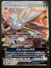 Carte Pokemon SOLGALEO SM16 PROMO Holo GX Soleil et Lune Pokebox FR NEUF