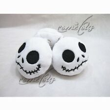 "1pc 3"" Cartoon The Nightmare Before Christmas Jack Mini Plush Pendant Doll Toy"