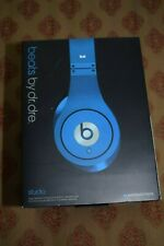 Beats by Dr. Dre Studio Blue Monster Over the Ear Wired Headphones