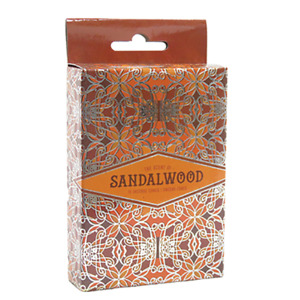 Sandalwood Incense Cones Home Fragrances Aroma Scent Relaxing Holder Plate
