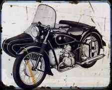 Bmw R 67 3 A4 Metal Sign Motorbike Vintage Aged