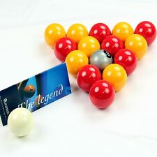 EXCLUSIVE! Aramith Premier SILVER 8 BALL Edition RED & YELLOW Pool Balls