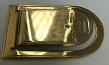 Louis Vuitton Gold Plated Stainless Steel Money Clip
