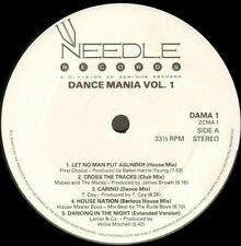 VARIOUS - Dance Mania Volume 1 - 1987 Needle Records LP UK ‎– DAMA 1