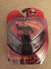 Man of Steel GENERAL ZOD Movie Masters Action Figure Mattel Michael Shannon