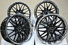 "18"" CRUIZE 190 BPL ALLOY WHEELS FIT OPEL CORSA D ASTRA H & OPC"