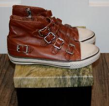 Ash Ledersneaker Sneaker caramel Gr.37