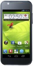 Téléphones mobiles bleus avec android, 4 Go