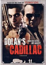 NEW DVD - STEPHEN KING - DOLAN'S CADILLAC - Christian Slater, Emmanuelle Vaugie