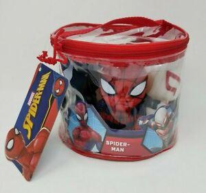 Marvel Spider-Man Bath Tub Squirter Toys Venom, Spider-Gwen, 2099, Kid Arachnid