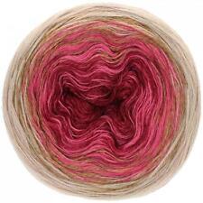 Wolle Kreativ! Lana Grossa - Shades of Merino Cotton - 407 burgund/taupe.. 200 g