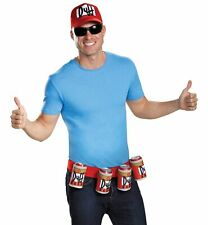 Officially Licensed The Simpsons Duffman Costume Accessory Kit - Genuine Disg...