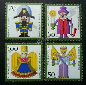 [SJ] Germany Christmas Decorations 1990 Animation Cartoon (stamp) MNH