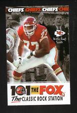 Willie Roaf--2003 Kansas City Chiefs Schedule--101 The Fox