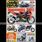 MOTO REVUE N°3530 SUZUKI GSF 1200 BANDIT YAMAHA TDM 900 SZR 660 SUZUKI GSXR 1000
