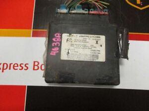 Chassis ECM Body Control BCM Right Hand Dash Opt AU0 Fits 01-02 ALERO 21184