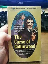 The Curse Of Collinwood Horror Vampire Tv Paperback Book 1968 Dark Shadows #5