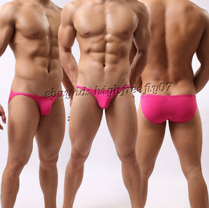 Men Bikini Swimwear Swimsuit Beachwear Underwear Smooth & Thin Mini Swim Briefs