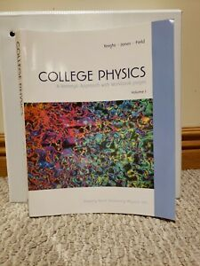 College Physics: A Strategic Approach With Workbook Pages