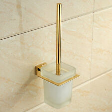 24k gold toilet paper. Stainless steel Holder  Scrub Glass Cup Gold Toilet Brush Bathroom Clean Set Sets eBay