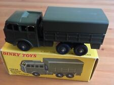 FRENCH DINKY 80D MILITARY TRUCK CAMION MILITIRE BERLIET ORIGINAL AND BOXED