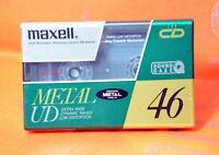 Maxell Metal UD 46 Japan 1990 Metal Bias Cassette Tape SEALED JP Market Ver.
