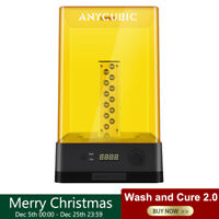 ANYCUBIC Wash & Cure 2.0 for LCD Resin 3D Printer UV-Light Curing LED Indicator