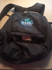Nike SWIM Swimmers Diver Diving Backpack Black Many Compartments Mesh Pouch