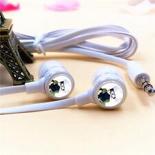 Anime Naruto Kakashi Logo Stereo In-Ear Earphone Headphone For MP3 Phone PC New