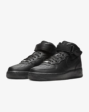 Nike Air Force 1 Mid'07 Тройной черный 315123 001 размера 4Y-14 * новый в коробке *
