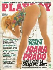 PLAYBOY MAGAZINE BRAZIL # 321 - JOANA PRADO  -  APR 2002 HOT!!