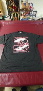 "2001 Dale Earnhardt T-Shirt. ""The Intimidator""  1951-2001 Size XL Black NWOT"