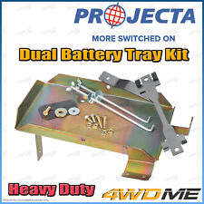 Toyota Prado 150 Series 2.8L PROJECTA Dual Battery Tray Auxiliary Complete Kit