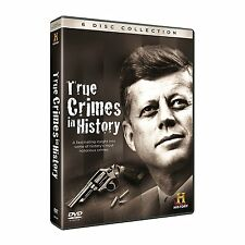 True Crimes In History - JFK Assassination - ST VALENTINES DAY MASSACRE - 6 Disc