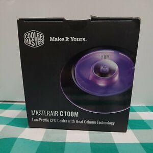 Cool Master MasterAir G100M Low-Profile CPU Cooler w/ Heat Column Technology