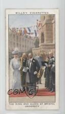 1935 #22 The King and Queen at Bristol University Non-Sports Card 1i3